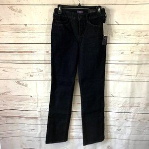 NYDJ Marilyn Straight Leg Jeans Dark Enzyme
